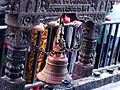Bell in the manakamana Temple, Nepal.JPG