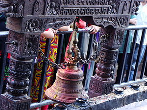 Manakamana - Historic temple bell