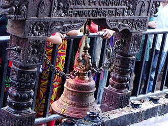 Manakamana - Historic temple bell
