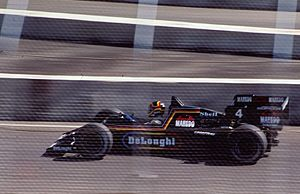 Formula One - Stefan Bellof driving for Tyrrell at the 1984 Dallas Grand Prix