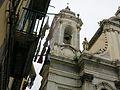 Belltower on the facade of San Filippo Neri dei Girolamini (Naples)(19565249641).jpg