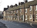 Belper - terrace on Chesterfield Road - geograph.org.uk - 1086590.jpg