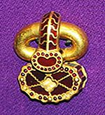 Belt buckle from Apahida, Romania.JPG