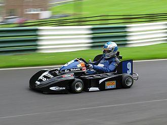 Superkart - Ben Wilshire British 125 Open class Superkart