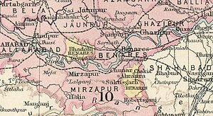 Benares State - Benares State in the Imperial Gazetteer of India