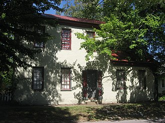National Register of Historic Places listings in Clark County, Indiana - Image: Benjamin Ferguson House front