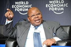 Benjamin William Mkapa - World Economic Forum on Africa 2010 - 1.jpg