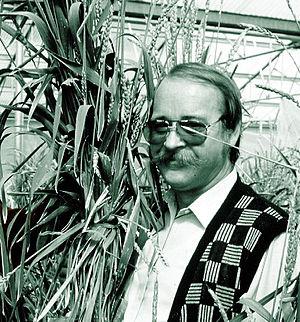 Bent Skovmand - Image: Bent Skovmand, direktor for Nordisk Genbank 2004 2007