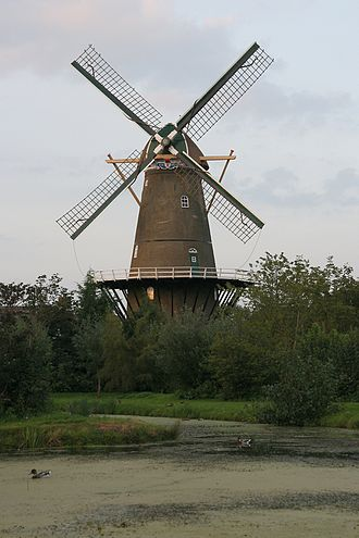 Bergambacht - Windmill Den Arend in Bergambacht