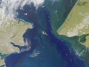 Russian America - Bering Strait, where Russia's east coast lies closest to Alaska's west coast