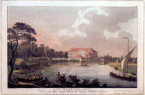 Bellevue Palace (Germany) - Bellevue in 1797.