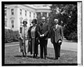 Bernard Jeddings, wife & daughter Marie with Coolidge, 5-28-25 LCCN2016839997.jpg