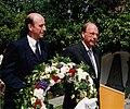 Bernd u. Wilderich von Droste zu Hülshoff am 150. Todestag von Annette von Droste-Hülshoff 1998 in Meersburg.jpg