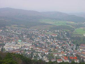 Berndorf, Lower Austria - Image: Berndorf Town From Guglzipf