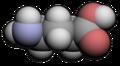 Beta-isobutyl-GABA molecule.png