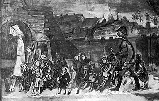 Transport of Białystok children