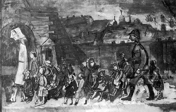 Białystok children by Otto Ungar