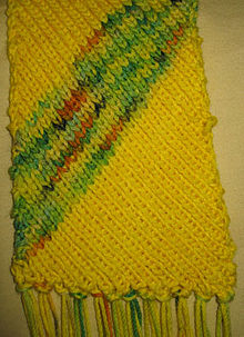 Bias knitting - Wikipedia