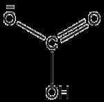 Structure of bicarbonate