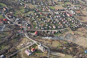 Lipnik, Bielsko-Biała - Aerial view