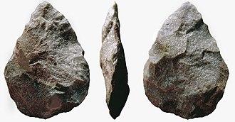 Acheulean - Image: Bifaz cordiforme
