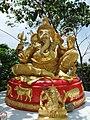 Big Ganesha - small statue near Big Ganesha. October, 2011.jpg