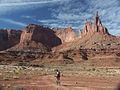 Biking near Moab, 2005.jpg