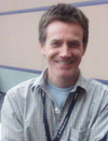 man wearing a gray shirt