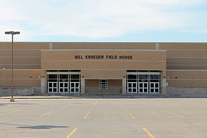 Clear Lake High School (Houston) - The Bill Krueger Field House for Clear Lake athletics.