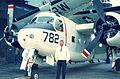 Bill Larkins and Grumman C-1A (6010210920).jpg