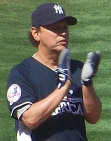 Billy Crystal en el partit de beisbol All Stars and Legends Softball (2008)