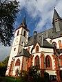 Bingen - Die Basilika St. Martin ist Teil des UNESCO-Welterbes Oberes Mittelrheintal - panoramio.jpg