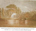 Bivouac on the banks of the Swan in 1827 by Garling.png