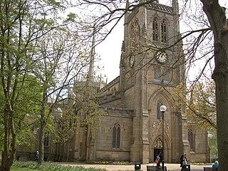 Blackburn Cathedral Church in Lancashire, United Kingdom