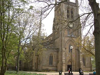 Blackburn Cathedral - The Cathedral from the west