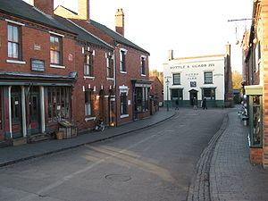 Black Country Living Museum - The main village street