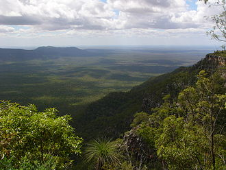 Blackdown Tableland National Park - View from the top of Blackdown Tableland