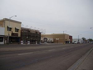 Blackfoot, Idaho - Business District of Blackfoot