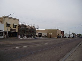 Blackfoot, Idaho - Business District of Blackfoot