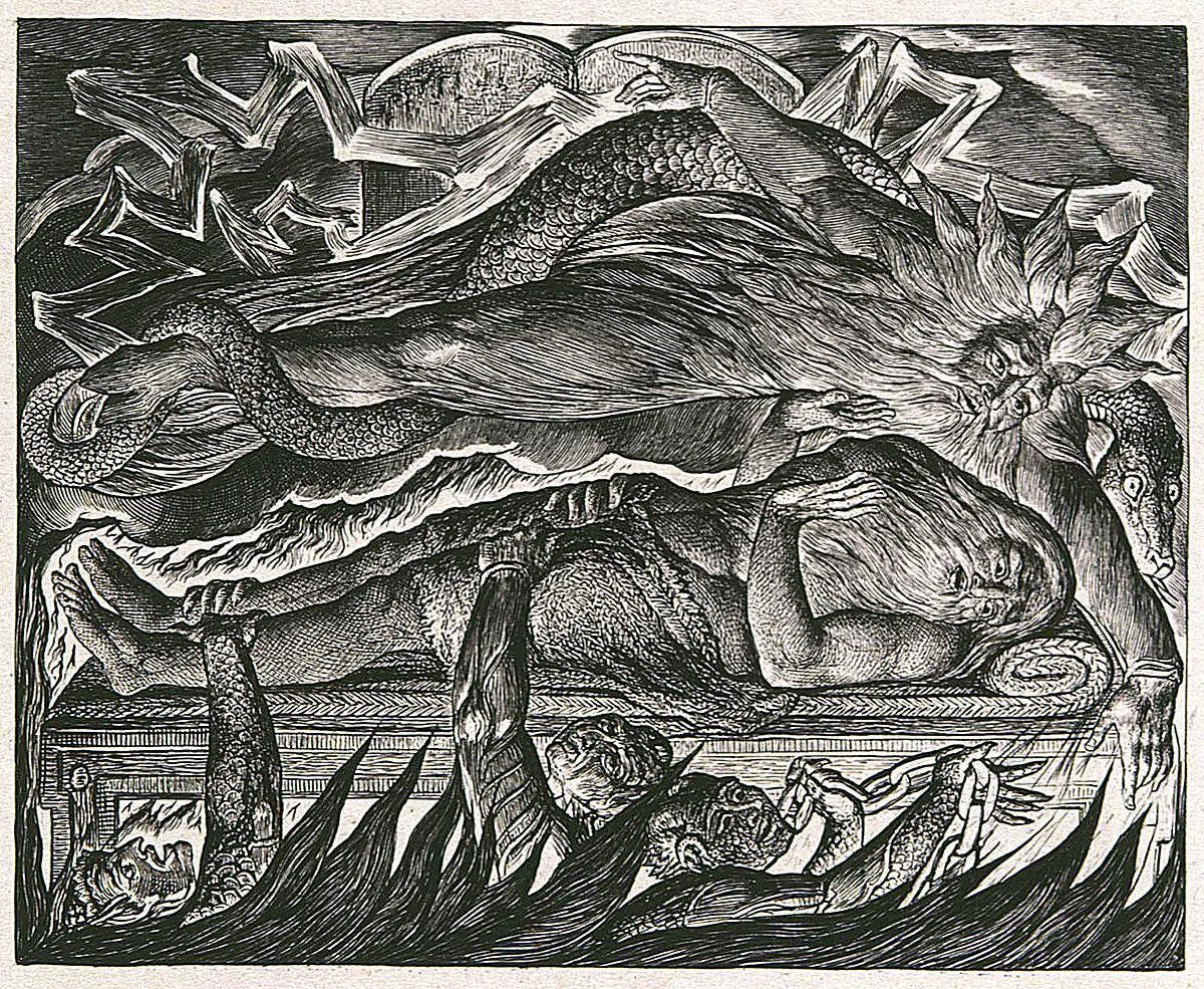 William Blake's Illustrations of the Book of Job - Wikipedia