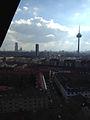 Blick über Ehrenfeld aus der Kirchturmspitze.JPG