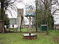 Blo' Norton village sign and St Andrew's church - geograph.org.uk - 1708385.jpg
