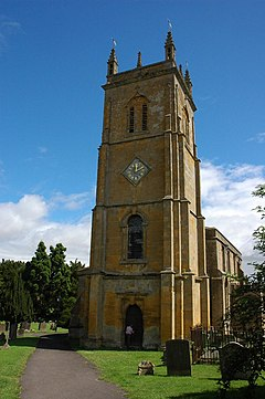 Blockley church tower - geograph.org.uk - 889246
