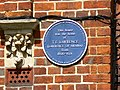 Blue plaque, 2 Polstead Road, Oxford - geograph.org.uk - 1984434.jpg