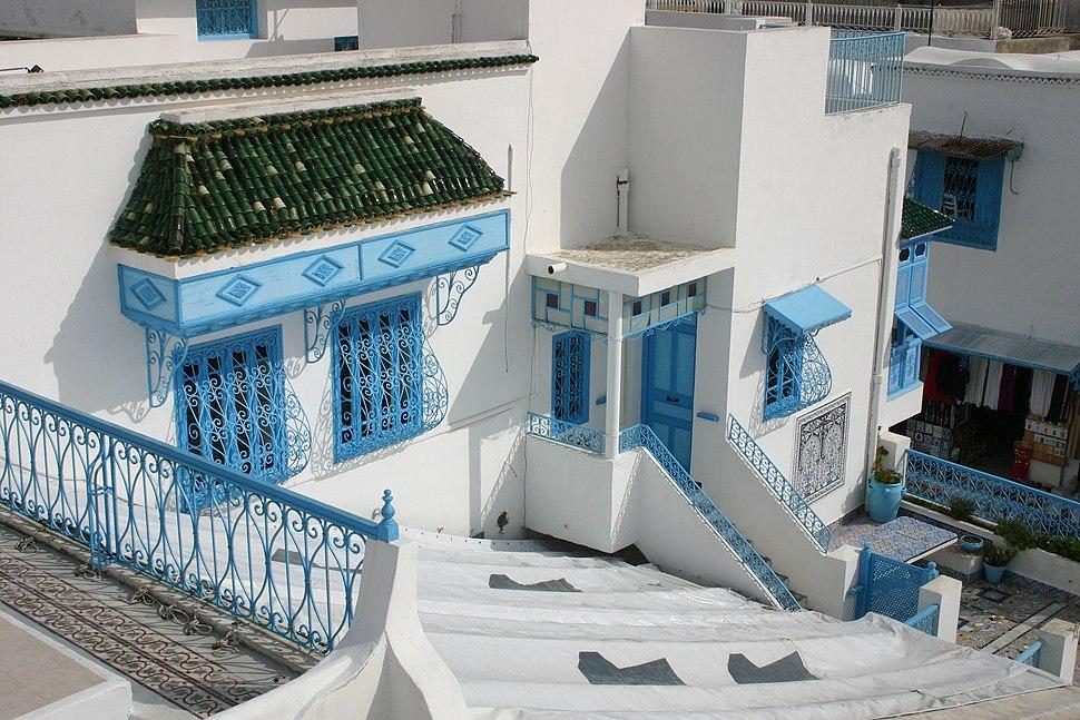 Bluebalconies2 - Sidi Bou Said