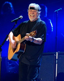 Seger performing in Fargo, North Dakota in 2013