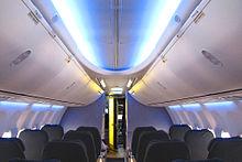 Boeing 737 con il nuovo Sky Interior
