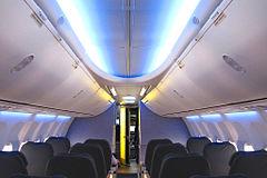 Boeing 737 Next Generation Sky Interior first cabin.jpg