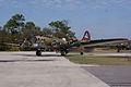 Boeing B-17G-85-DL Flying Fortress Nine-O-Nine Landing Taxi 26 CFatKAM 09Feb2011 (14797252760).jpg