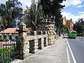 Bogotá Avenida carrera Séptima en el Parque del Chicó.JPG